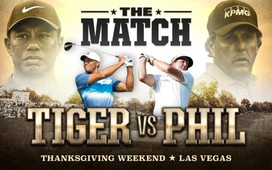 The Match Tiger Woods tegen Phil Mickelson
