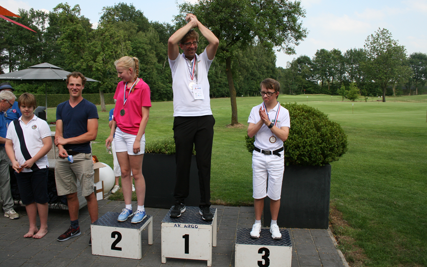 Golf in de Special Olympics Nationale Spelen 2018 in de Achterhoek