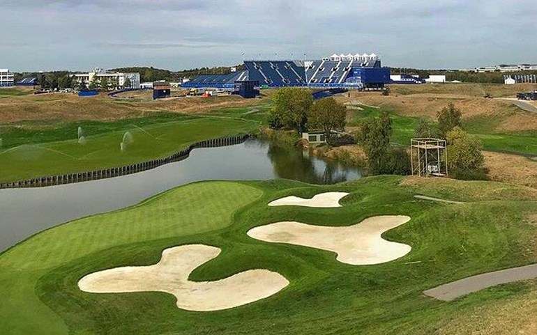 Le Golf National in de week voor de Ryder Cup