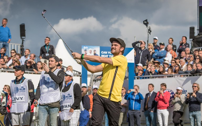 Slotaflevering met Calvin Telkamp The Batte in 100 dagen KLM Open 2018