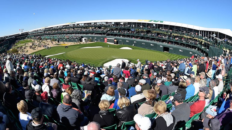 Stadion hole van TPC Scottsdale (Waste Management Phoenix Open)
