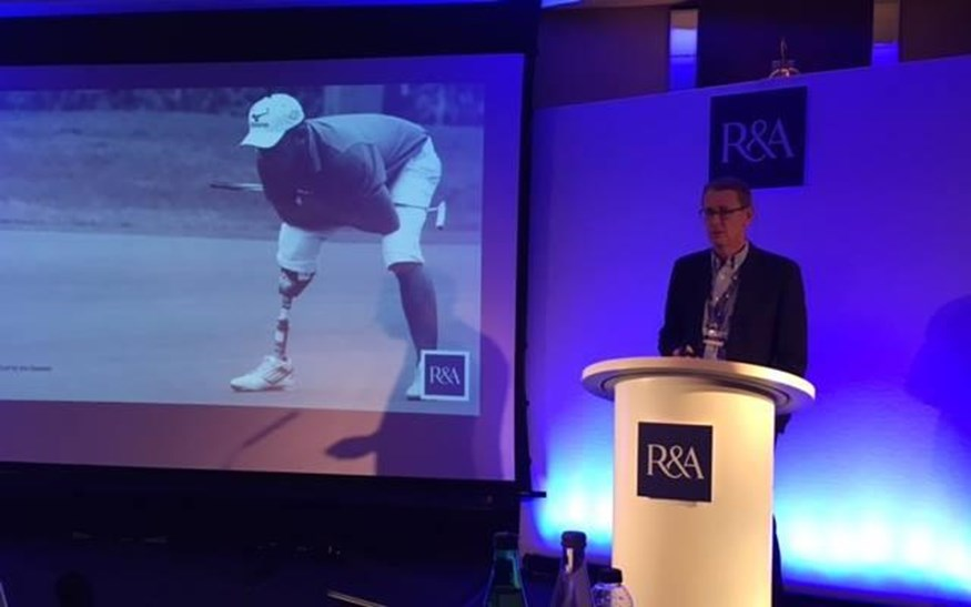 EDGA R&A Symposium on golf for the disabled St Andrews