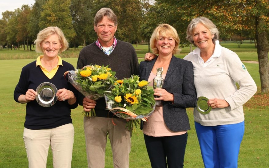 Nan Croockewit, Bart Bolte, Kristine ten Doesschate en Bernardine de Vries