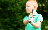 Dean Janssens van acht jaar hole-in-one golf
