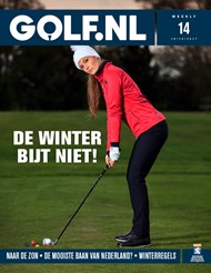 Cover GOLF.NL Weekly 14-2017 Winter golf